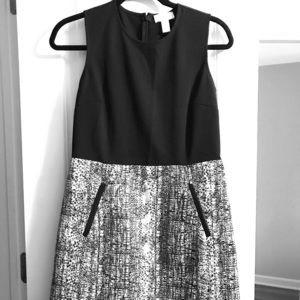 Business casual dress from Loft